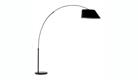 Vloerlamp Arc - Zwart