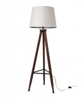 De vloerlamp Rif is een klassieke stijlvolle drie potige vloerlamp