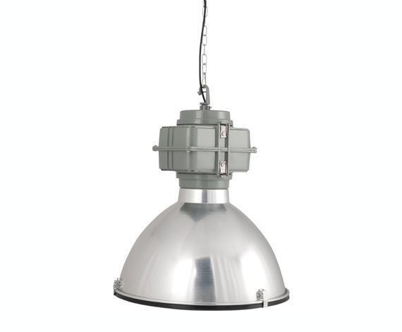 Hanglamp Industrie Chroom
