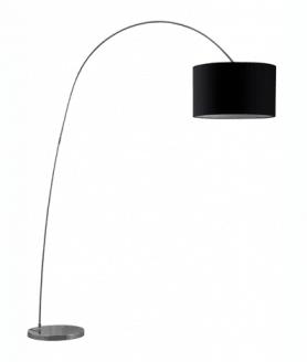 Vloerlamp wiggly zwart