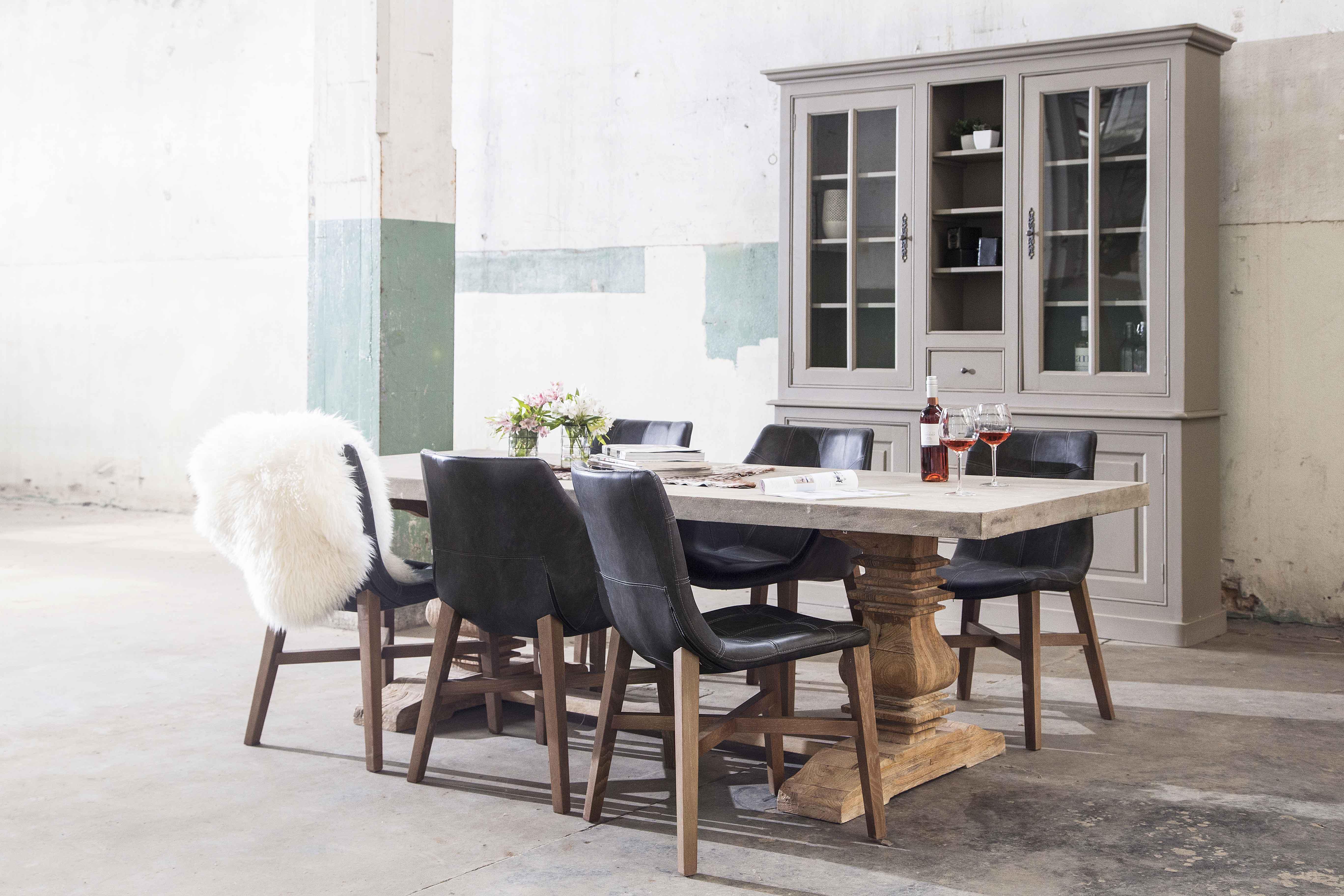 Neba eetkamerstoel meubilex for Goedkope industriele eetkamerstoelen