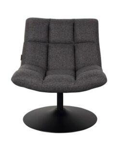 dutchbone bar lounge fauteuil grijs 3