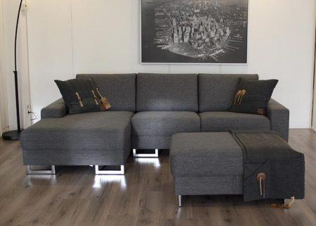 Hoekbank wing met longchair