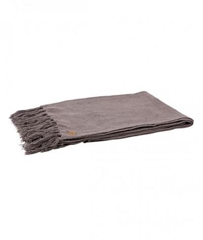 Coarse plaid donker grijs