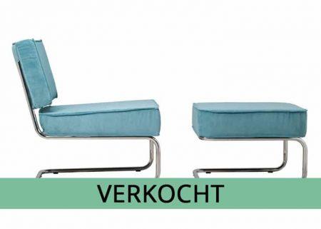 Lounge stoel icl hocker verkocht