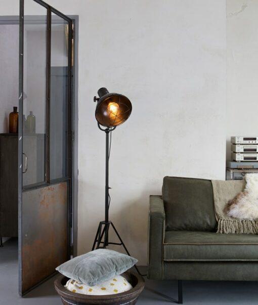 Vloerlamp Spotlight metaal - Zwart