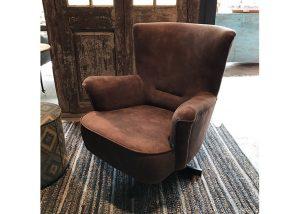 Lederlook fauteuil sale