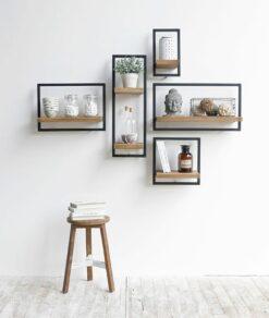 Shelfmate wanddecoratie zelf samen te stellen