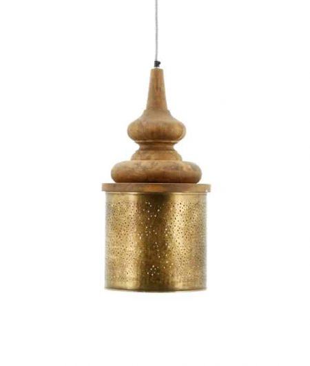 Hanglamp Lampion large koper