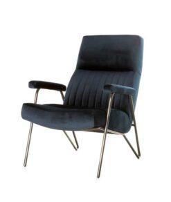 Blauwe william stoel