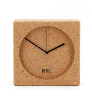 Leuke klok gemaakt van kurk van het merk By-Boo
