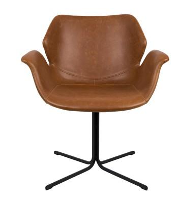 Mooie bruine nikki stoel