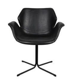 Mooie zwarte nikki stoel