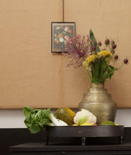Sfeervolle vaas met decoratie