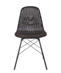 Spun stoel zwart
