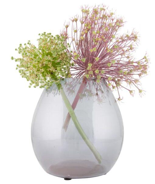 Standaard vaas met decoratie
