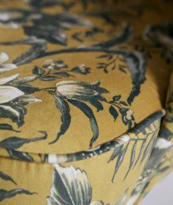 Fauteuil Vogue detail stof verkrijgbaar bij meubilex