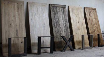 Eiken tafels Meubilex