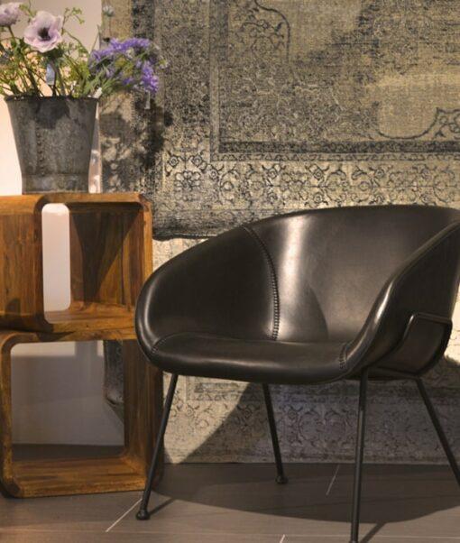 Loungechair Feston Black Meubilex