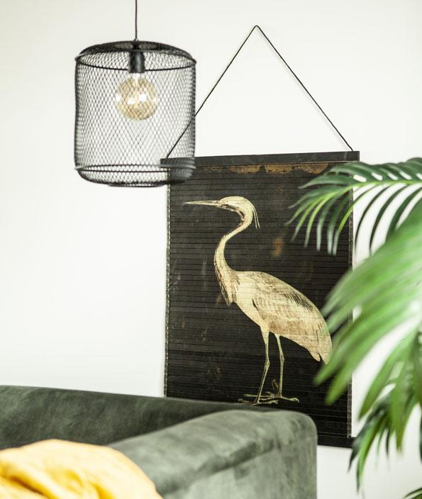 Miyagi bird wanddecoratie