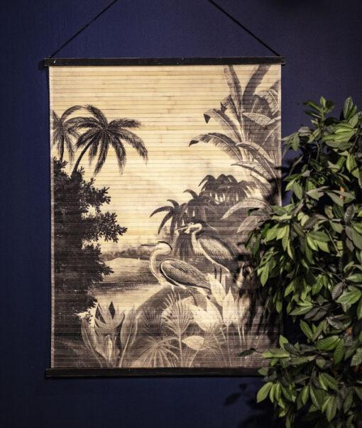 Miyagi jungle wanddecoratie