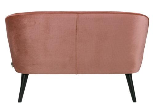 Sara bankje oud roze achterkant
