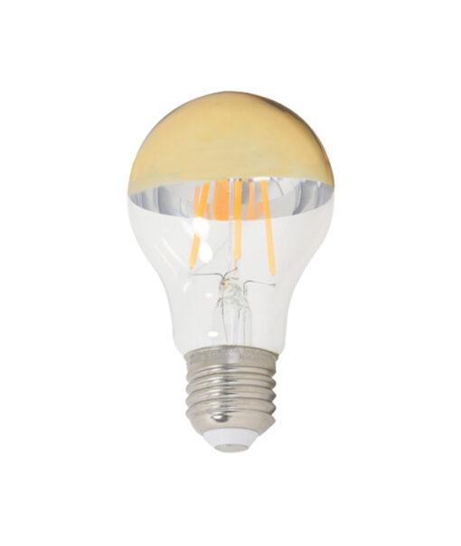 Deco LED globe Ø6x11 cm LIGHT 4W heldergoud E27 dimbaar