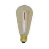 Deco LED hoekig Ø6,5x14,5 cm LIGHT 4W amber E27 dimbaar
