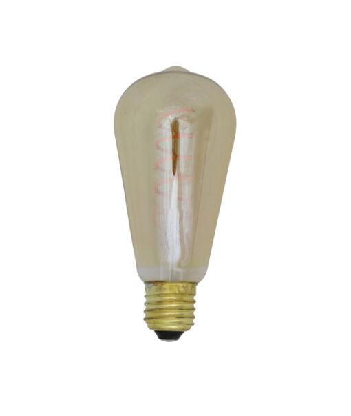 Deco LED hoekig Ø65x145 cm LIGHT 4W amber E27 dimbaar