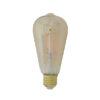 LED hoekig Ø65x145 cm LIGHT 4W amber E27 dimbaar