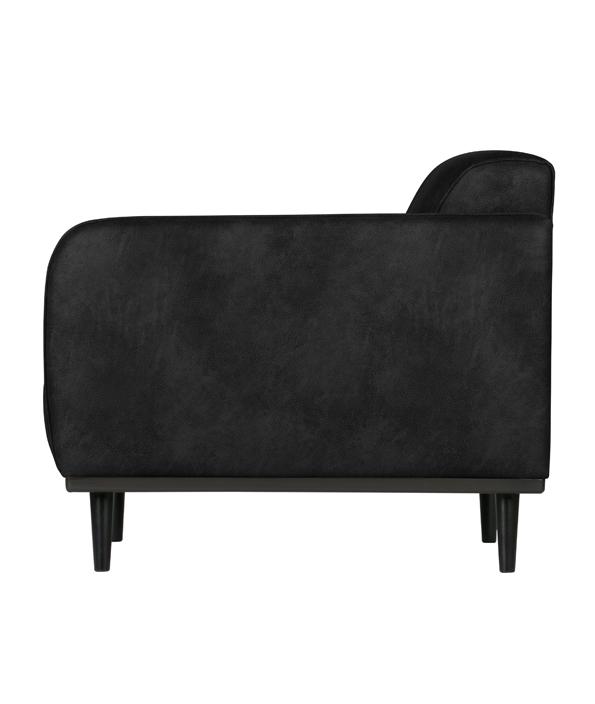 Statement fauteuil met arm suedine | Meubilex