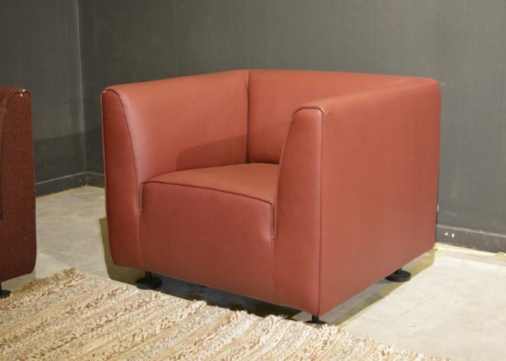 Gelderland 4800 leren fauteuil bordeaux
