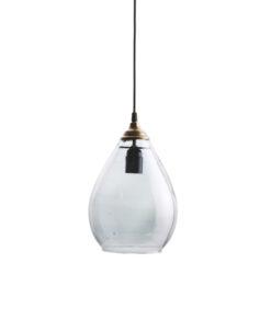 Hanglamp simple large grijs