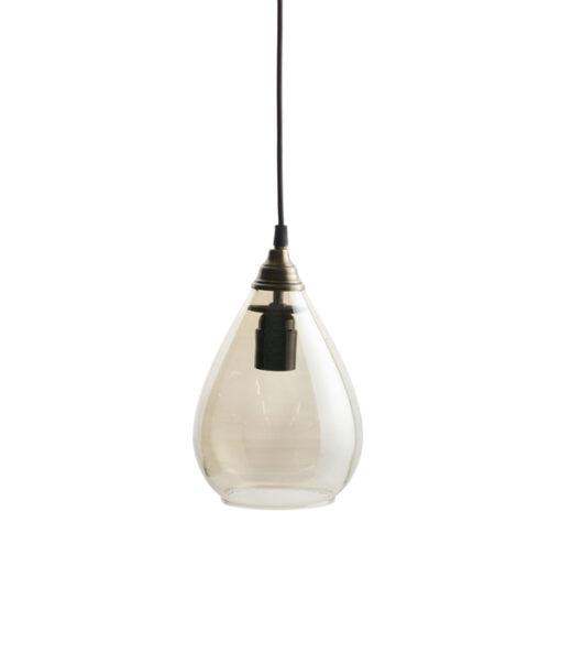 Hanglamp simple medium antique brass