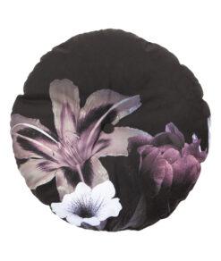 flower kussen rond