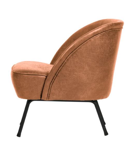 vogue fauteuil cognac 2