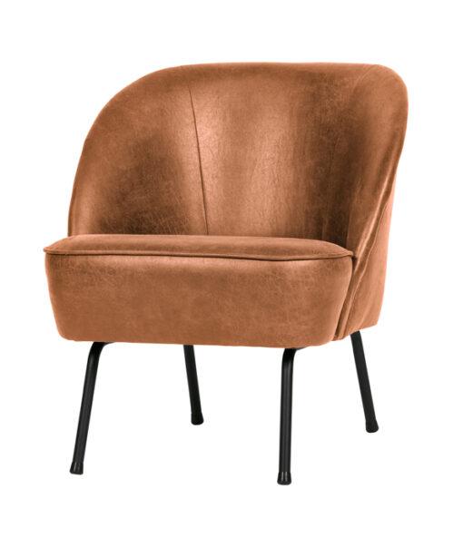 vogue fauteuil cognac