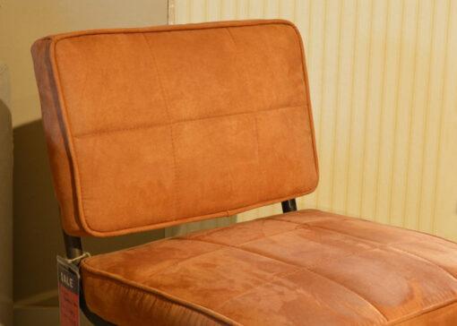 Bruine fauteuil leer 2