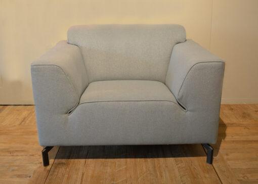 grijs blauwe fauteuil