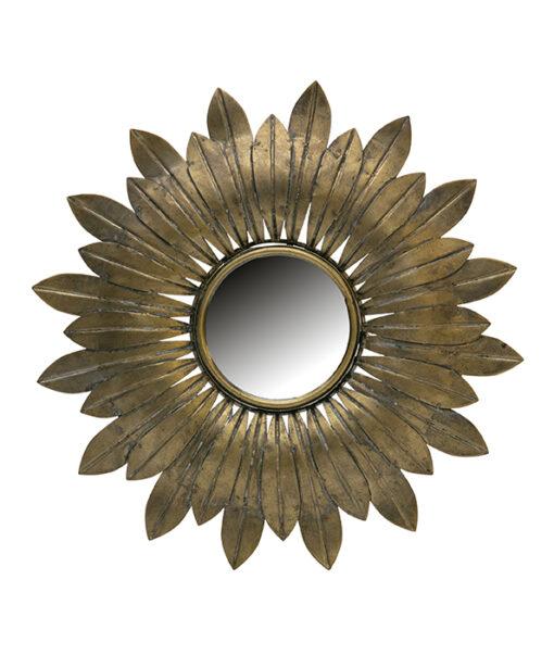 Confess spiegel metaal rond 1