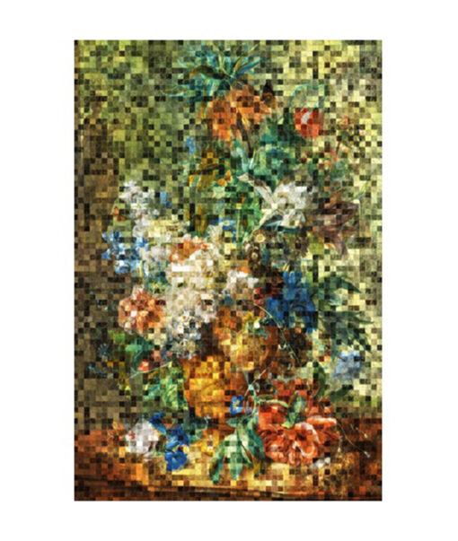 Dutch flower green pixel