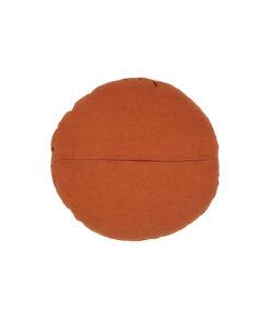 Graceful kussen fluweer oranje3