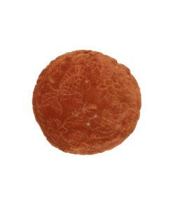 Graceful kussen fluweer oranje4