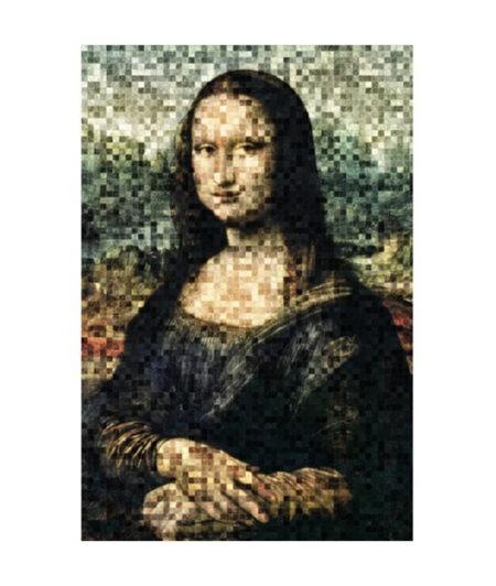 Mona Lisa pixels