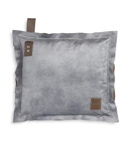 Dax kussen 50 x 50 cm licht grijs