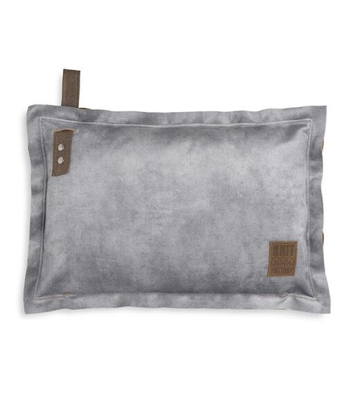 Dax kussen 60 x 40 cm licht grijs