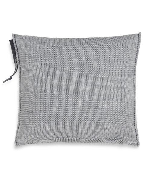 Joly kussen 50 x 50 cm licht grijs