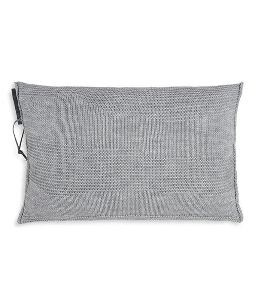 Joly kussen 60 x 40 cm licht grijs