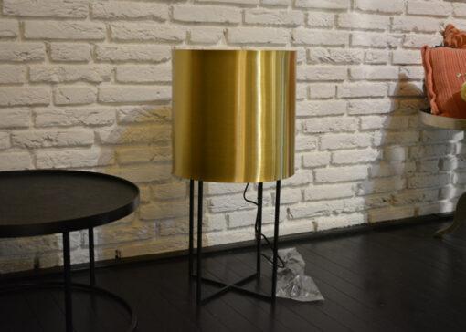 Tafellamp goud 2 stuks