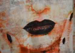 alu art black lips 2